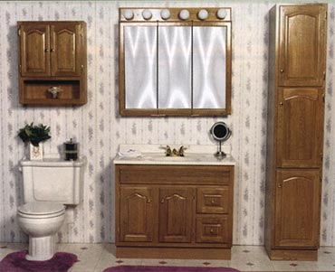 Buy And Build, Inc. :: Raised Panel Vanity Cabinets - Denver